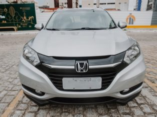 HR-V EX, 2016, prata, emplacado, 23.500 KM